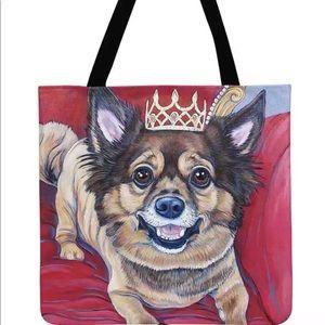 Handbags - Royal Doggie Tote Bag